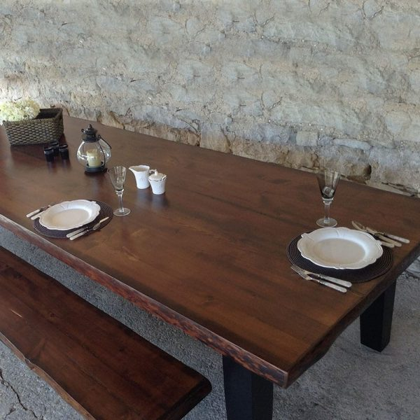 Timber Ridge Table and Bench