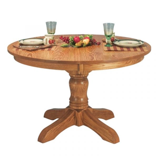 McKenzie Single Pedestal Table