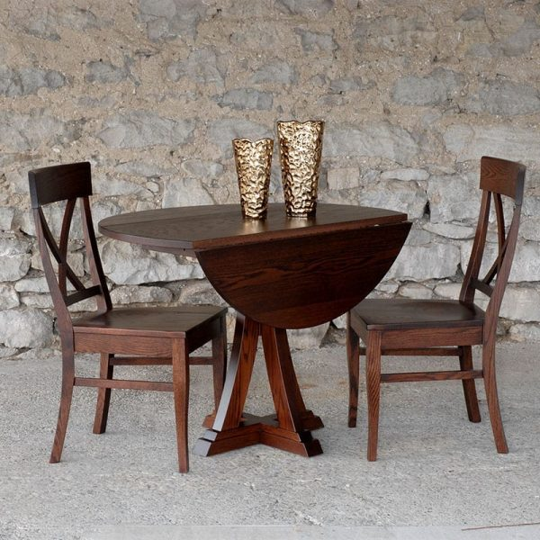 Eiffel Table with Single X Chairs