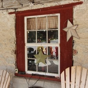 Rustic Window Frame
