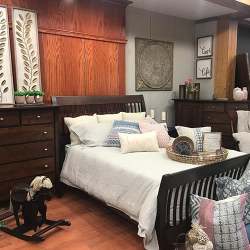 Solid Wood Bedroom Suite