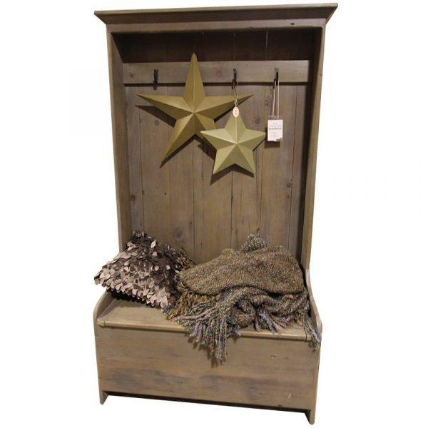 Settle Bench in reclaimed barnboard