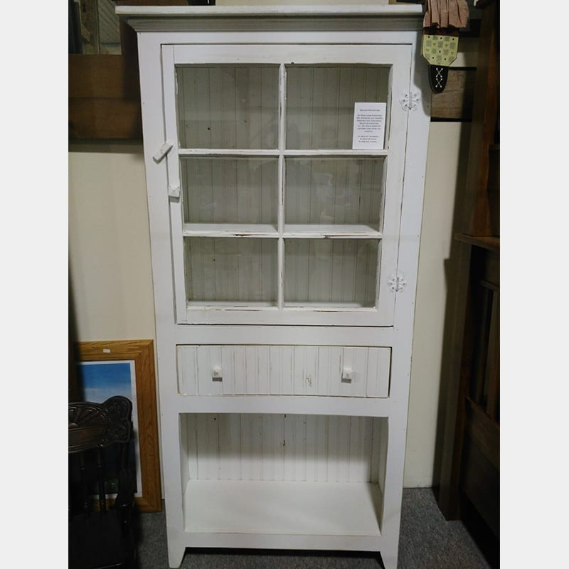 Antique Window Cabinet