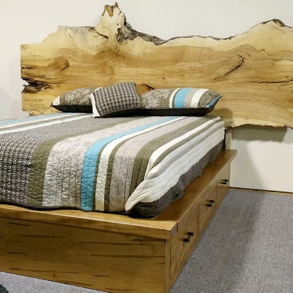 Live Edge Queen Condo Bed