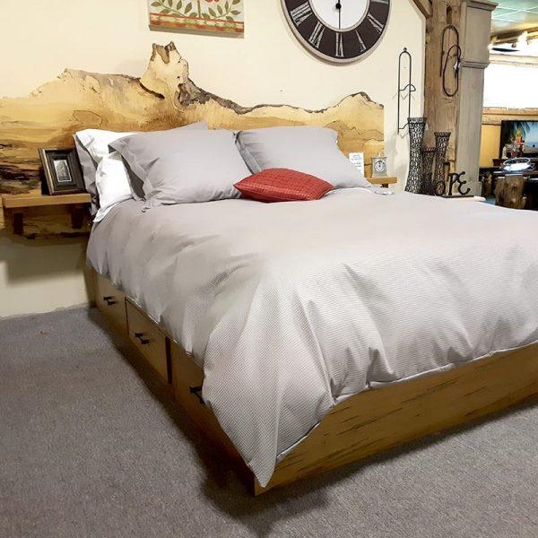 Live Edge Condo Bed