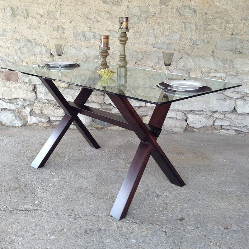 Muskoka Table with Glass Top