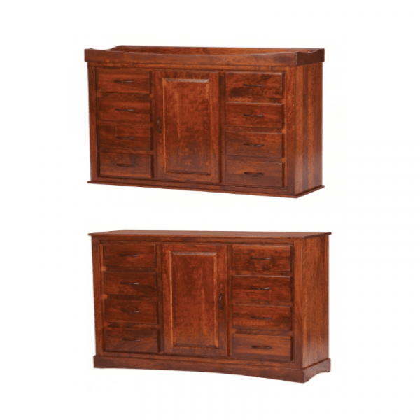 Reversible Door Chest/Changing Table
