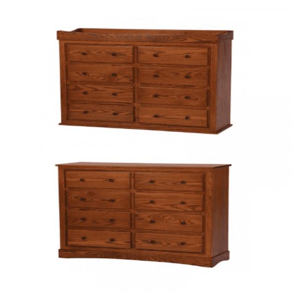 Reversible 8 Drawer Dresser/Changing