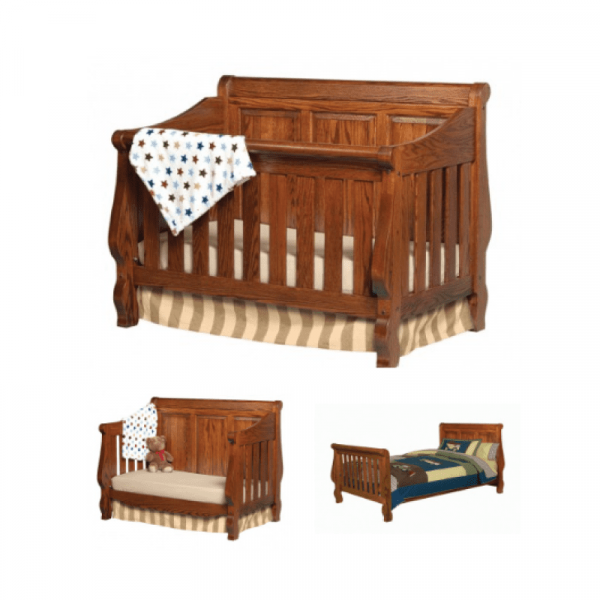 Heirloom 3 Stage Bed With Panel
