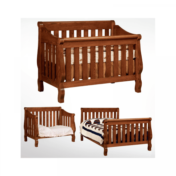 Hoosier Sleigh 3 Stage Bed