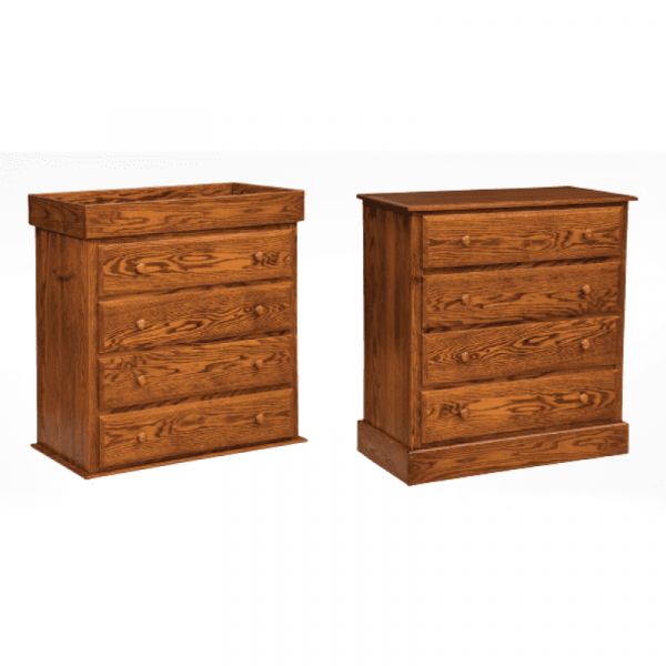 Reversible 4 Drawer Dresser