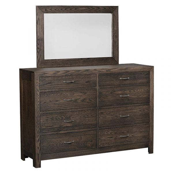 Sonoma 8-Drawer Dresser with Mirror
