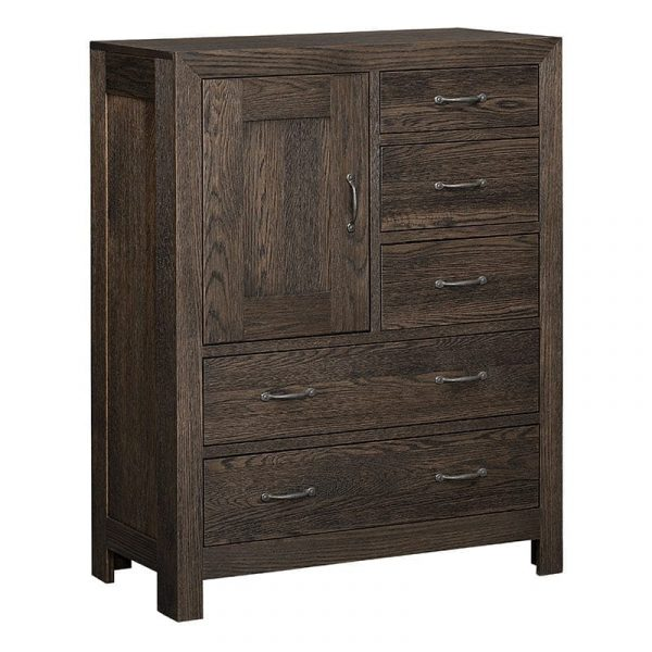 Sonoma 5-Drawer 1-Door Chest