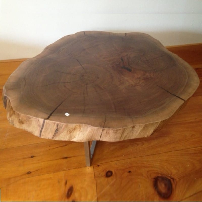 Walnut Cookie Coffee Table