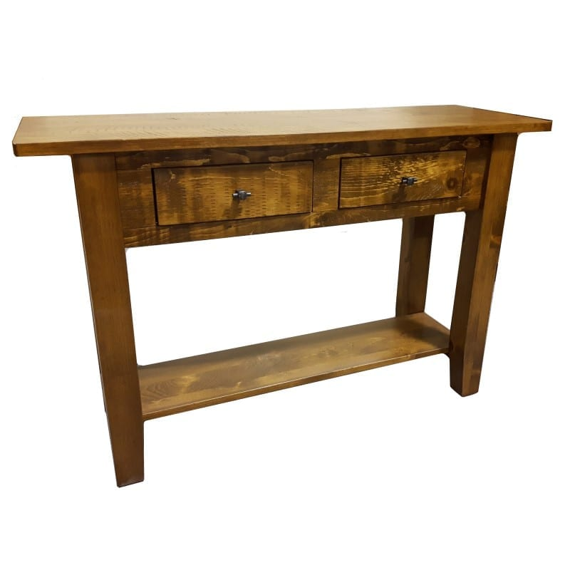 Log Cabin Rustic Hall Table