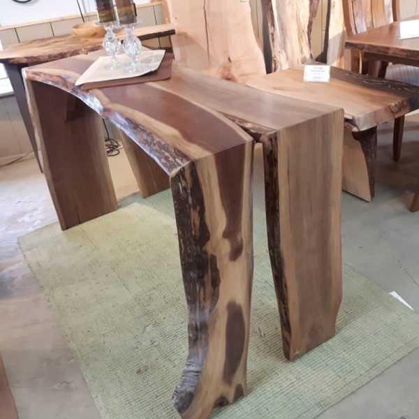 Pub Height Waterfall Table