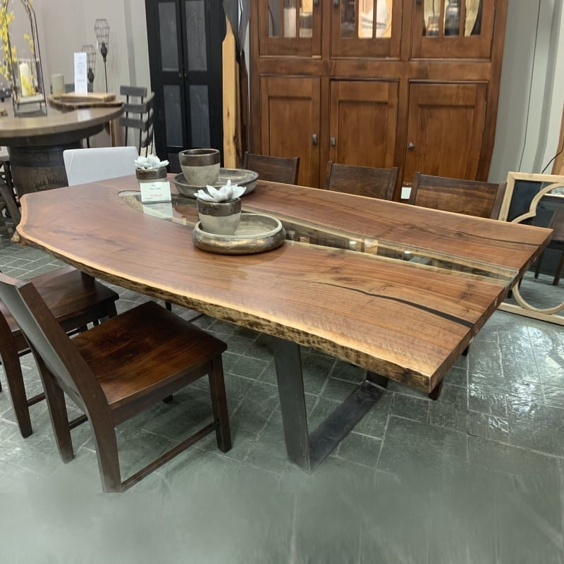 Walnut River Table