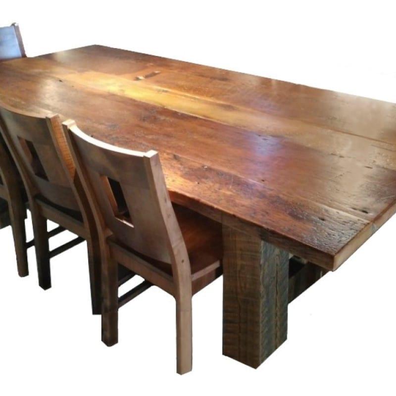 Threshing floor table top