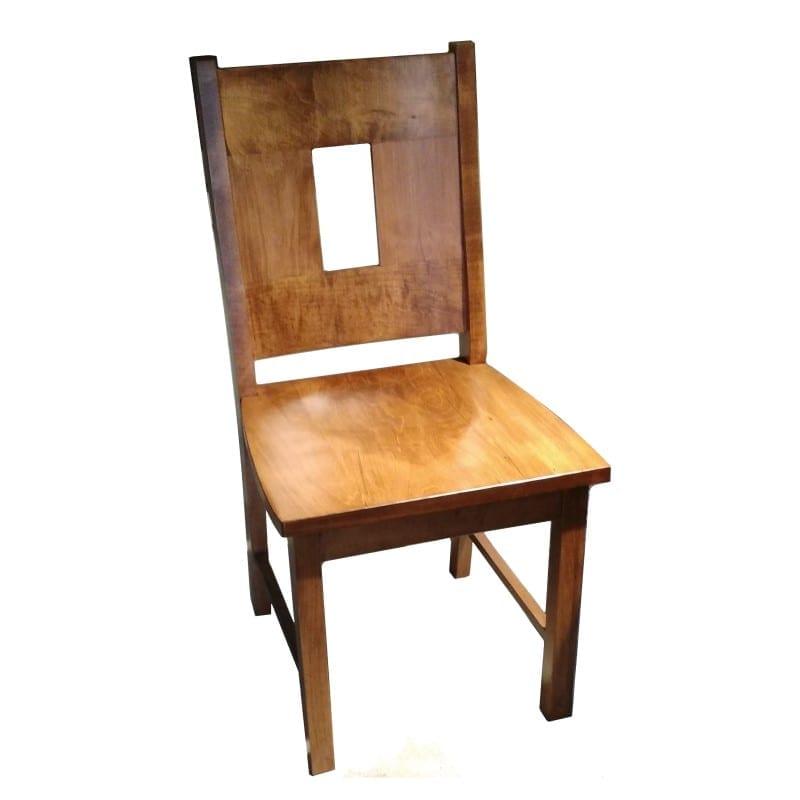 Window back side chair